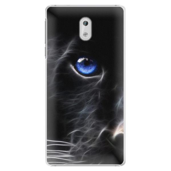 Plastové pouzdro iSaprio - Black Puma - Nokia 3