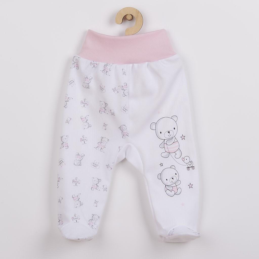 Kojenecké polodupačky New Baby Bears - růžová/68 (4-6m)