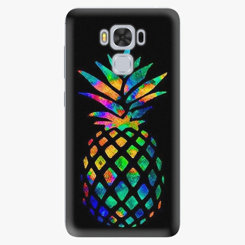 Plastový kryt iSaprio - Rainbow Pineapple - Asus ZenFone 3 Max ZC553KL