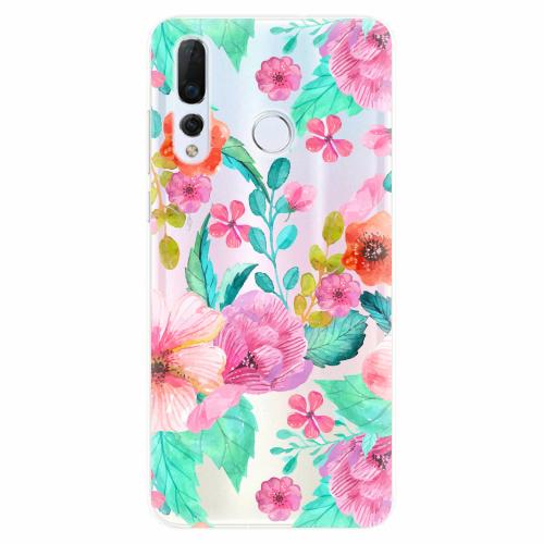 Silikonové pouzdro iSaprio - Flower Pattern 01 - Huawei Nova 4