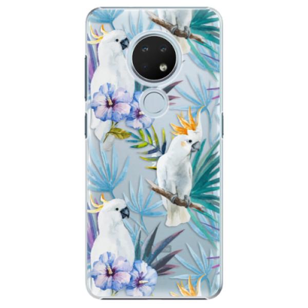 Plastové pouzdro iSaprio - Parrot Pattern 01 - Nokia 6.2
