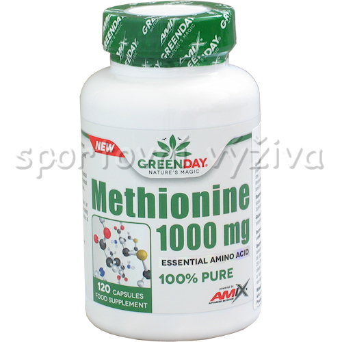 Methionine 1000mg 120 kapslí