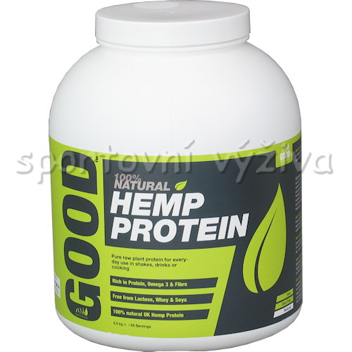 GOOD Hemp Protein RAW 2500g natural