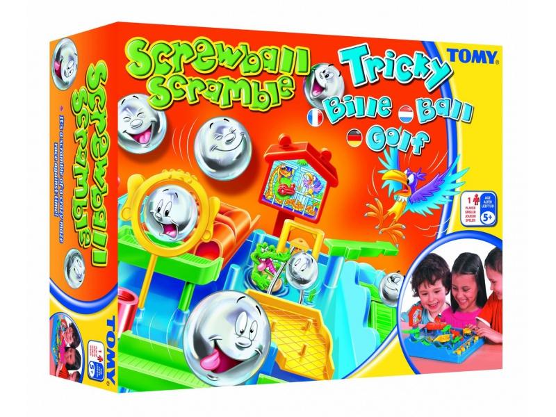 TOMY - Společenská hra Bláznivé kuličky