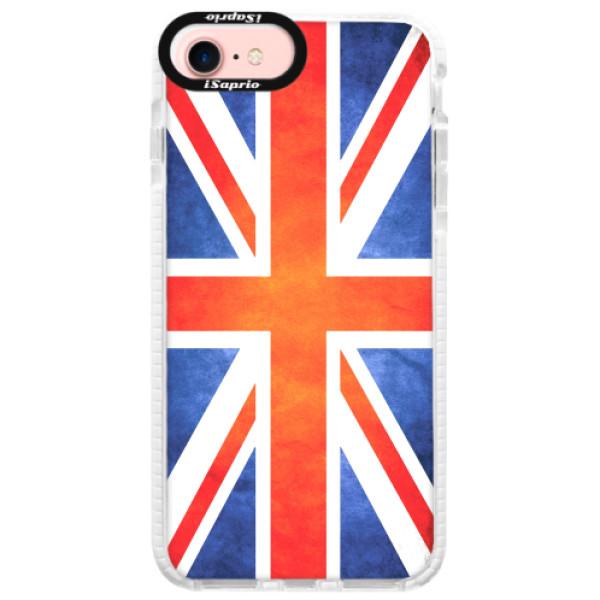 Silikonové pouzdro Bumper iSaprio - UK Flag - iPhone 7