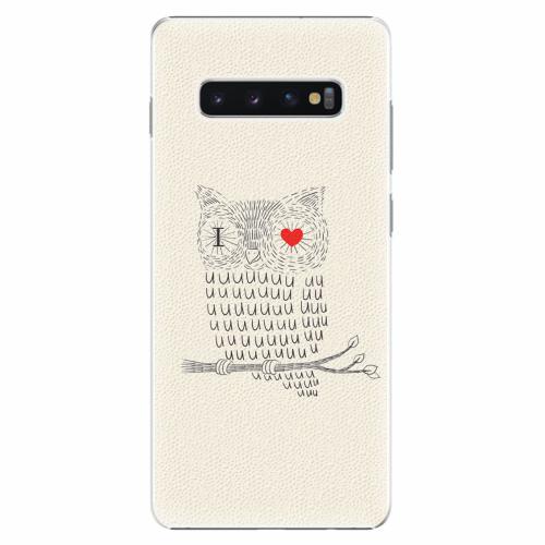 Plastový kryt iSaprio - I Love You 01 - Samsung Galaxy S10+