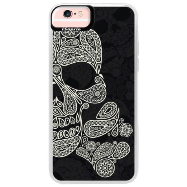 Neonové pouzdro Pink iSaprio - Mayan Skull - iPhone 6 Plus/6S Plus