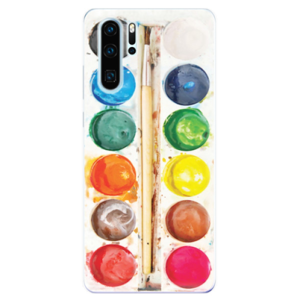 Odolné silikonové pouzdro iSaprio - Watercolors - Huawei P30 Pro
