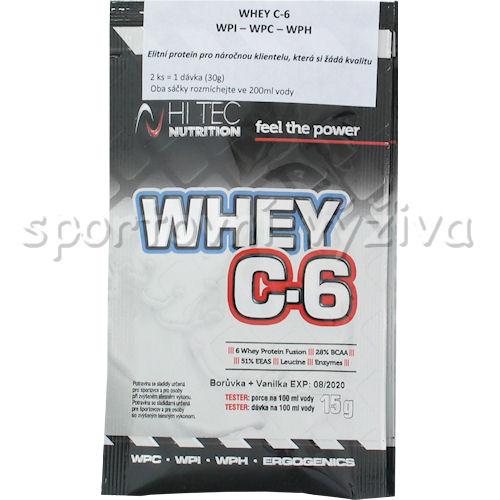 Whey C6 CFM 100% whey 30g 2x15g