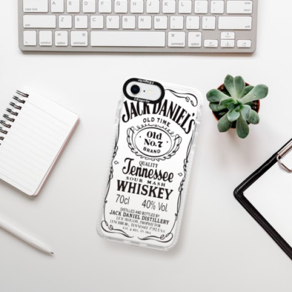 Silikonové pouzdro Bumper iSaprio - Jack White - iPhone SE 2020