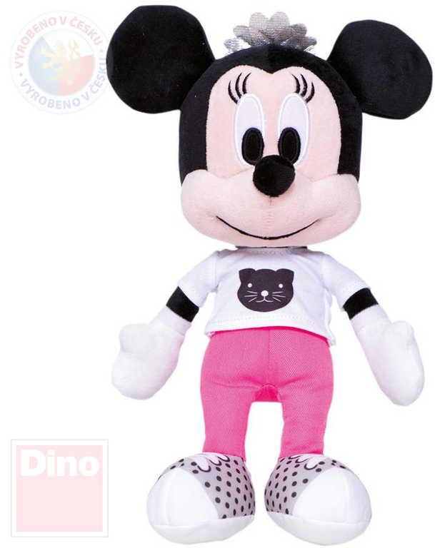 DINO PLYŠ Disney myška Minnie Mouse růžové kalhoty 25cm *PLYŠOVÉ HRAČKY*