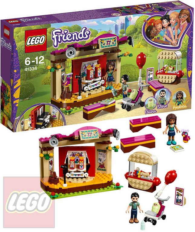 LEGO FRIENDS Andrea a její vystoupení v parku STAVEBNICE 41334