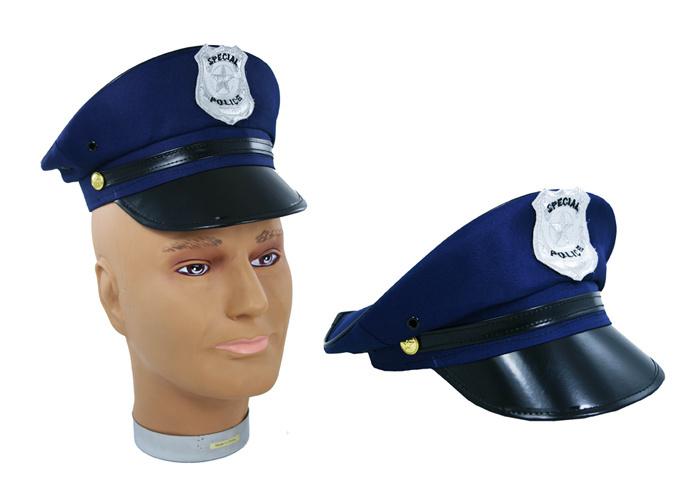 KARNEVAL Čepice policejní dětská KARNEVALOVÝ DOPLNĚK