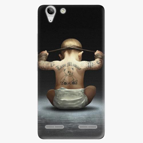 Plastový kryt iSaprio - Crazy Baby - Lenovo Vibe K5