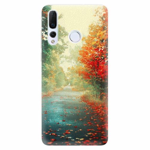 Silikonové pouzdro iSaprio - Autumn 03 - Huawei Nova 4