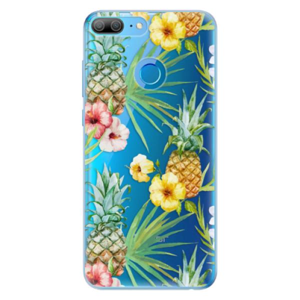 Odolné silikonové pouzdro iSaprio - Pineapple Pattern 02 - Huawei Honor 9 Lite