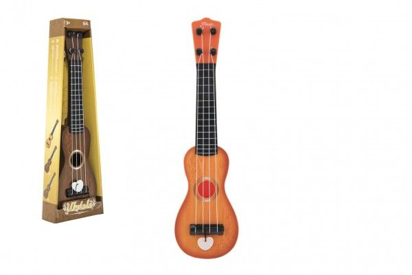 Ukulele/kytara plast 39cm s trsátkem - 12x40x5cm