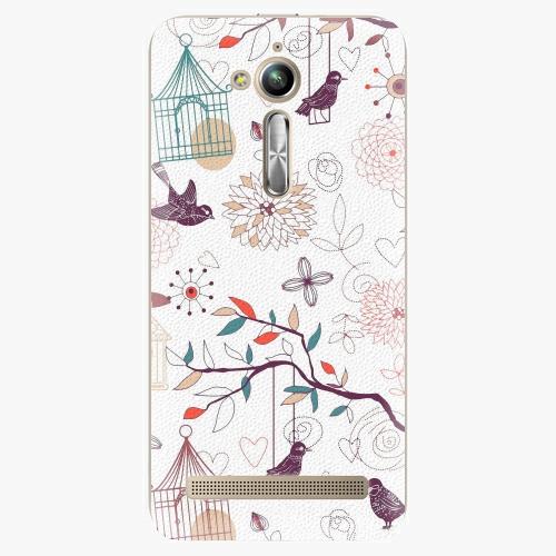 Plastový kryt iSaprio - Birds - Asus ZenFone Go ZB500KL
