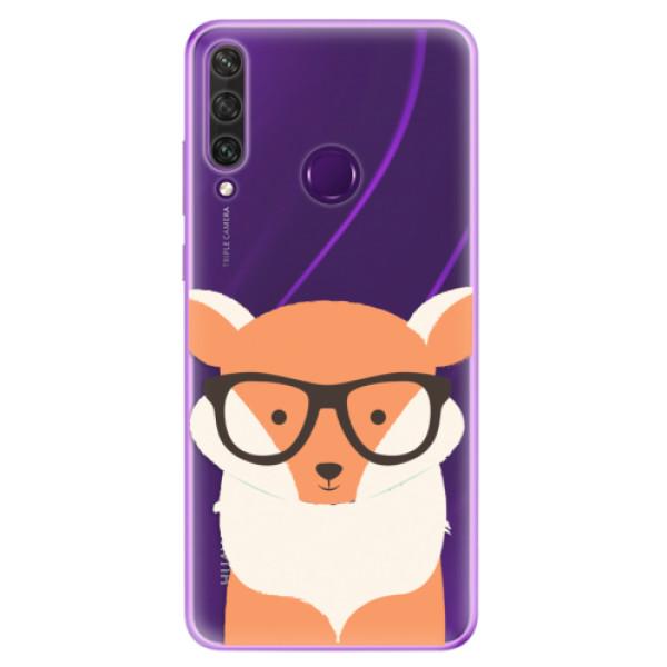 Odolné silikonové pouzdro iSaprio - Orange Fox - Huawei Y6p