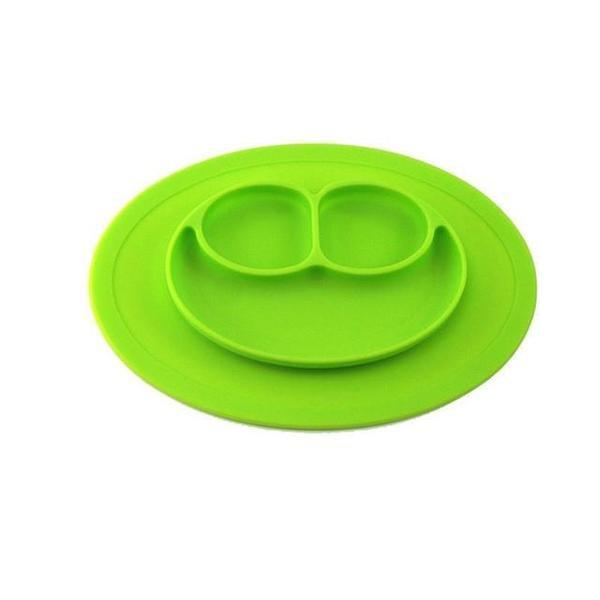 Dětské silikonové prostírání - zelená