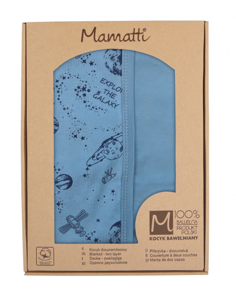 mamatti-detska-oboust-bavl-deka-80-x-90-cm-v-dark-krabicce-vesmir-modra