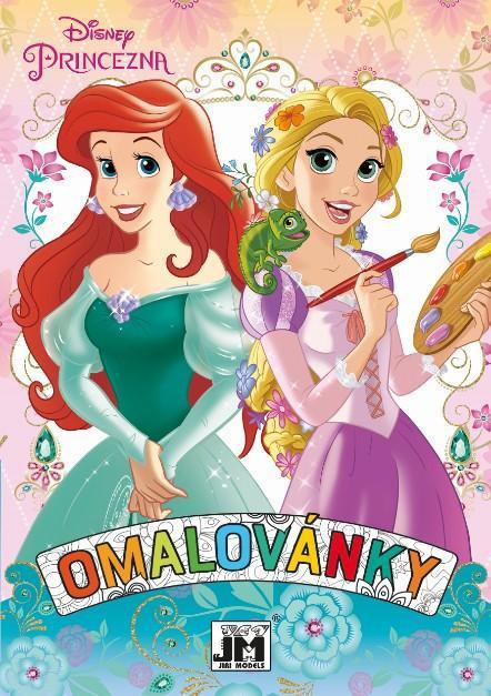 JIRI MODELS Omalovánky A5+ Disney Princezny