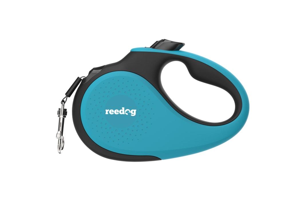Reedog Senza Premium samonavíjecí vodítko L 50kg / 5m páska / tyrkysové