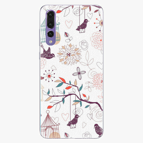 Plastový kryt iSaprio - Birds - Huawei P20 Pro