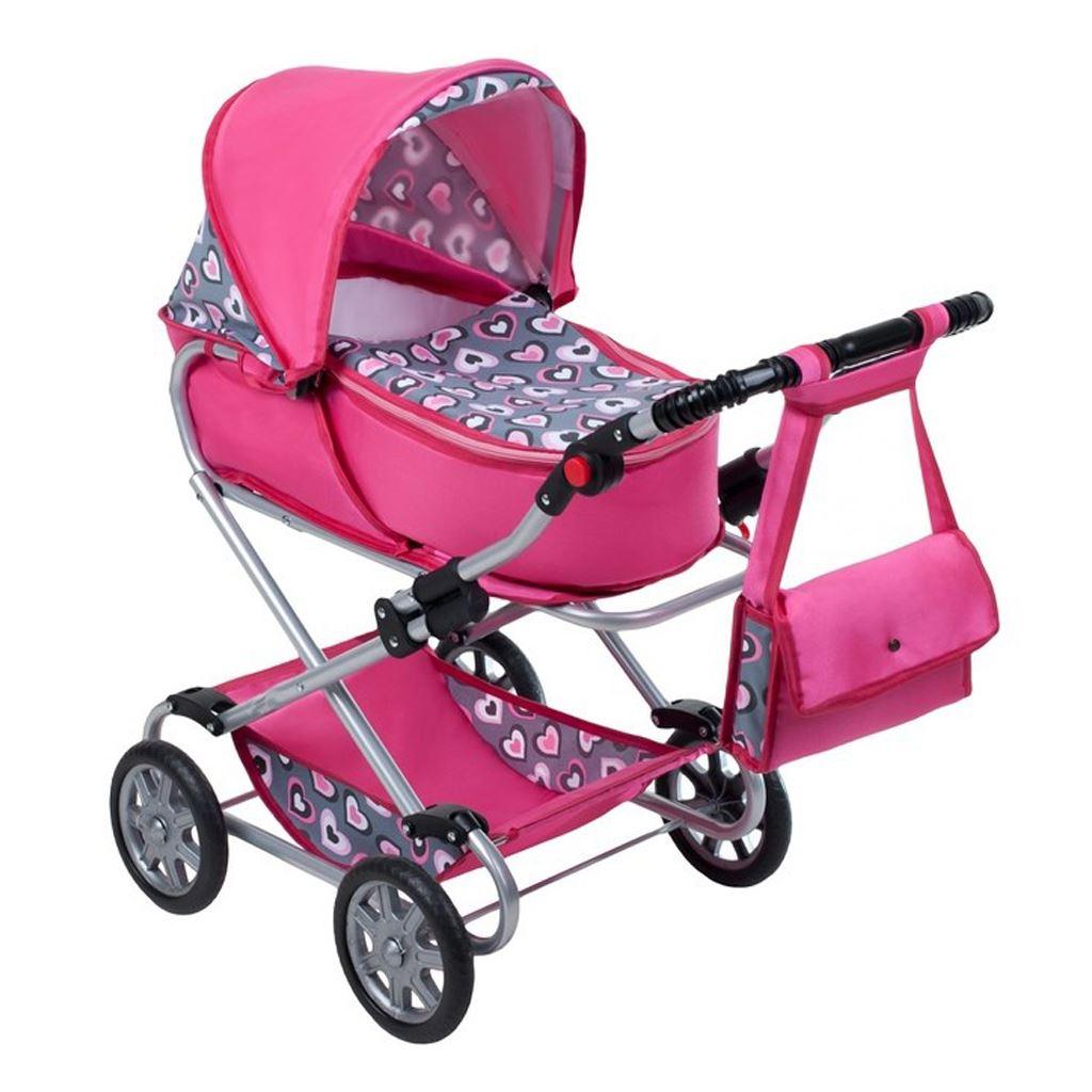 Dětský kočárek pro panenky 2v1 New Baby
