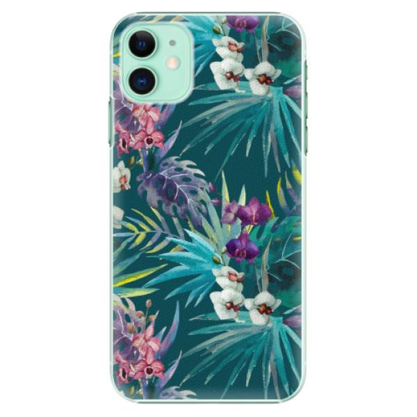 Plastové pouzdro iSaprio - Tropical Blue 01 - iPhone 11
