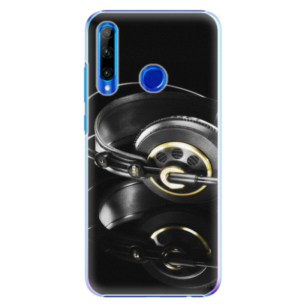 Plastové pouzdro iSaprio - Headphones 02 - Huawei Honor 20 Lite