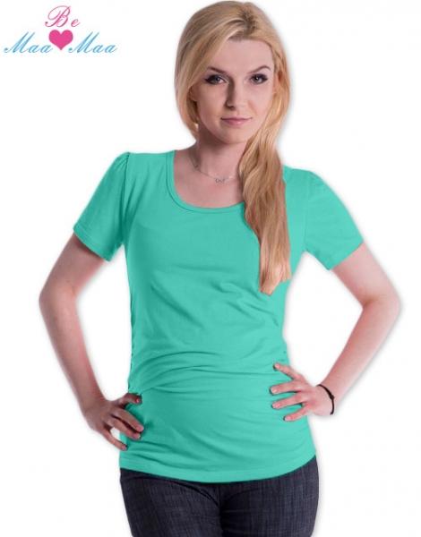 Triko JOLY bavlna nejen pro těhotné - mátové