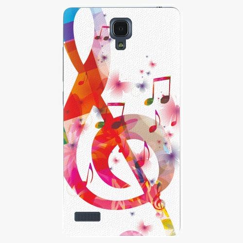 Plastový kryt iSaprio - Love Music - Xiaomi Redmi Note
