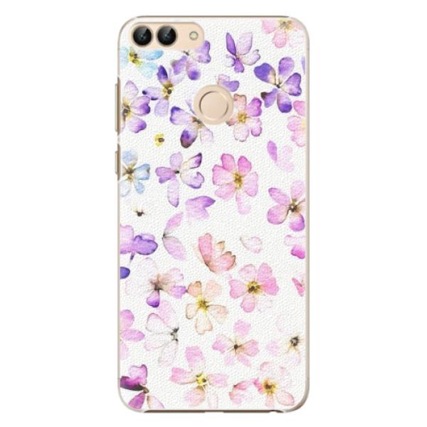 Plastové pouzdro iSaprio - Wildflowers - Huawei P Smart