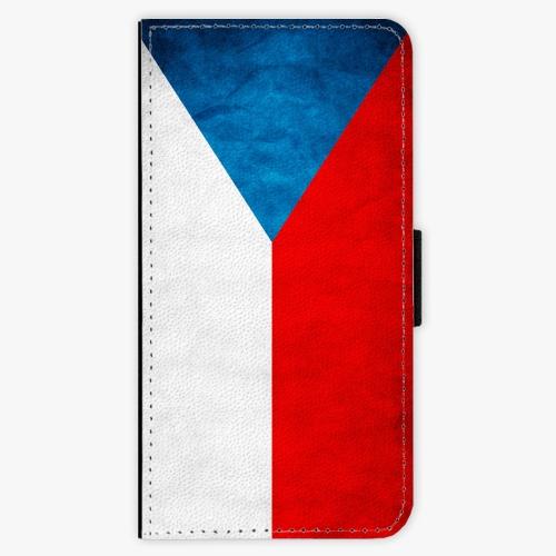 Flipové pouzdro iSaprio - Czech Flag - Sony Xperia XZ