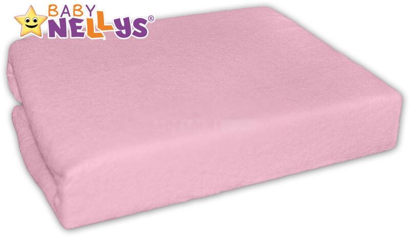 Jersey prostěradlo růžové 90x90cm
