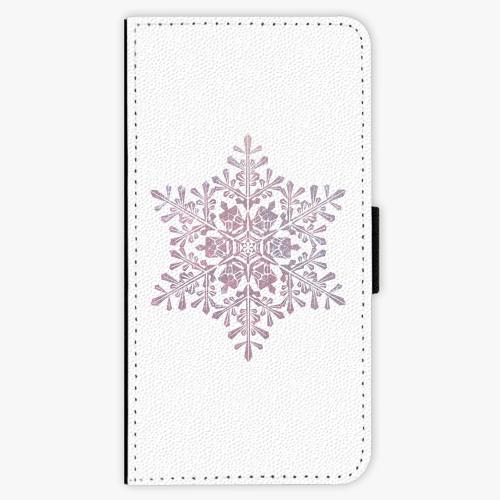 Flipové pouzdro iSaprio - Snow Flake - Sony Xperia X Compact