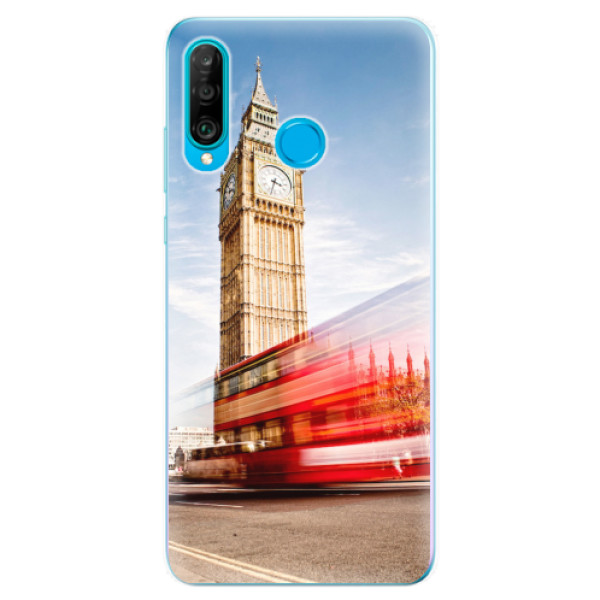 Odolné silikonové pouzdro iSaprio - London 01 - Huawei P30 Lite