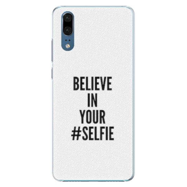 Plastové pouzdro iSaprio - Selfie - Huawei P20