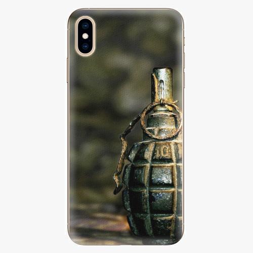 Plastový kryt iSaprio - Grenade - iPhone XS Max