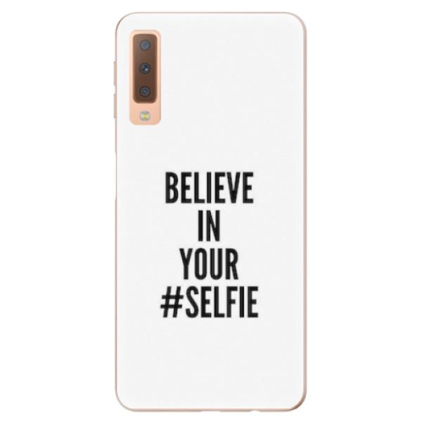 Odolné silikonové pouzdro iSaprio - Selfie - Samsung Galaxy A7 (2018)