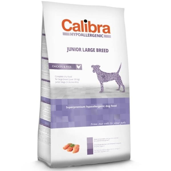 Calibra Dog HA Junior Large Breed Chicken 3kg