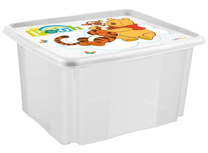 Box na hračky Medvídek PÚ - 24 l