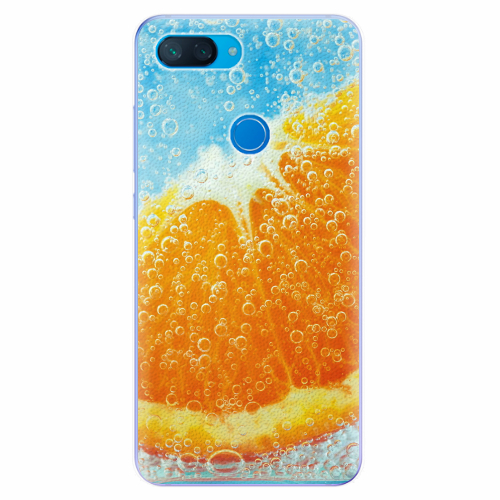 Silikonové pouzdro iSaprio - Orange Water - Xiaomi Mi 8 Lite