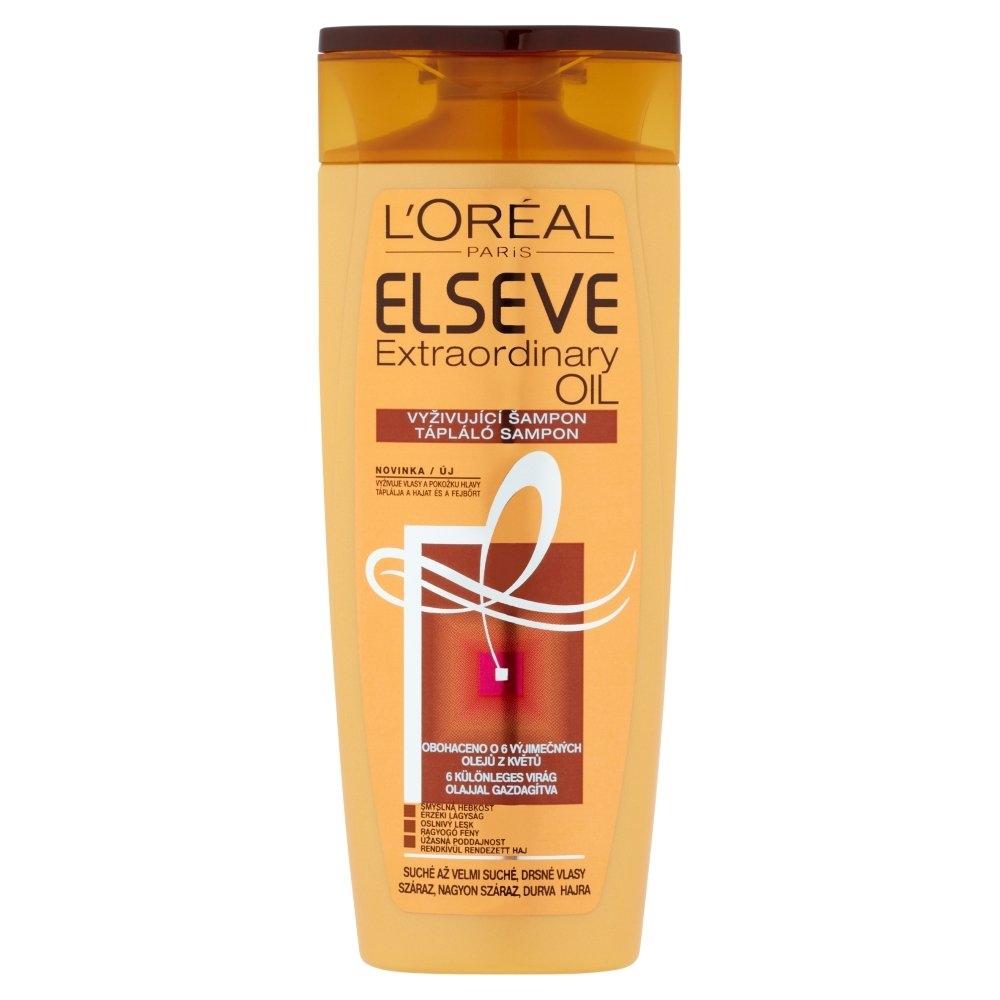 Elseve Extraordinary Oil vyživující šampon 250 ml