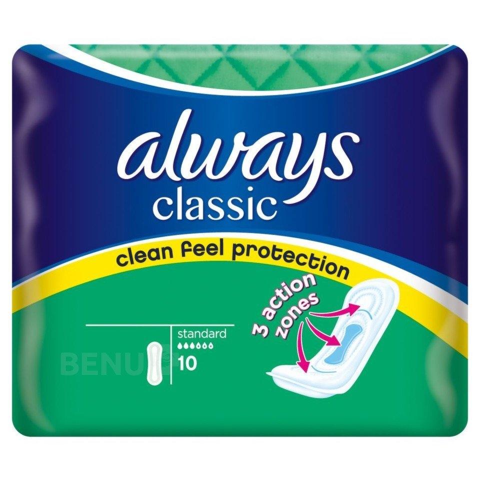 Classic Standart hygienické vložky 10ks/bal.