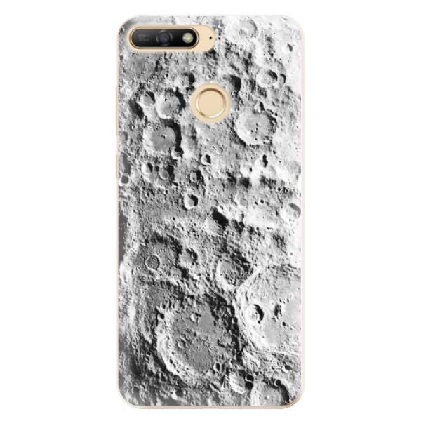 Odolné silikonové pouzdro iSaprio - Moon Surface - Huawei Y6 Prime 2018