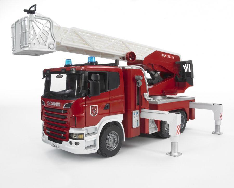 BRUDER 03590 Bworld Auto SCANIA požární HASIČSKÉ AUTO