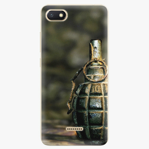 Silikonové pouzdro iSaprio - Grenade - Xiaomi Redmi 6A