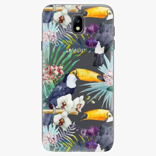 Plastový kryt iSaprio - Tucan Pattern 01 - Samsung Galaxy J7 2017